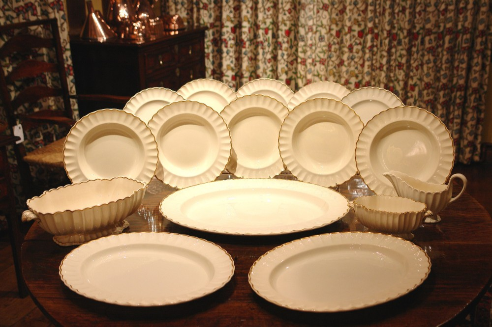 victorian copeland spode dinner service