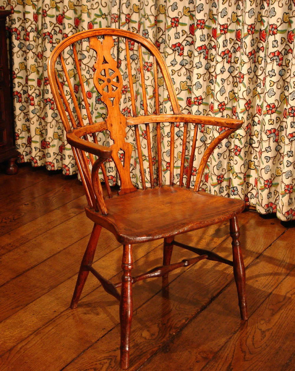 victorian country windsor armchair