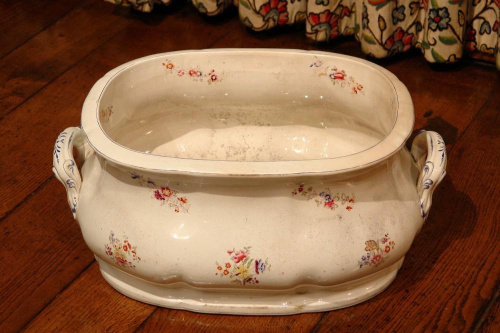 Early Victorian Staffordshire Foot Bath | 550994 | www.adams ...