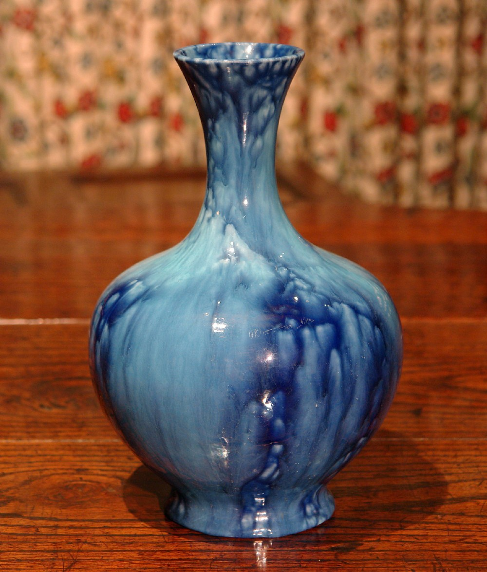 early chameleon ware vase