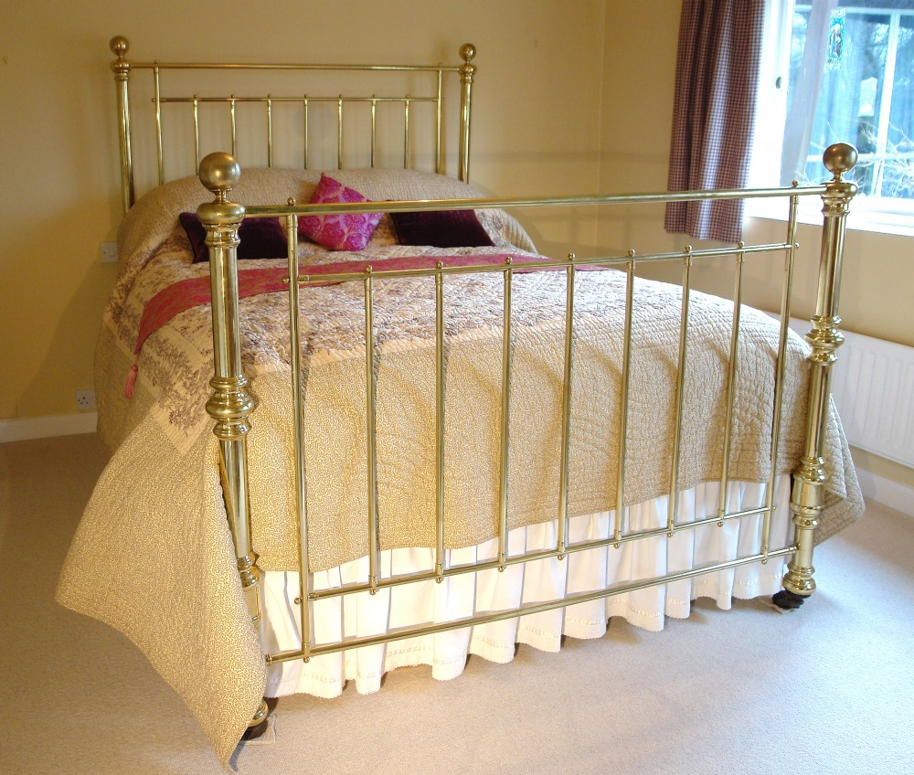 king size victorian brass bed