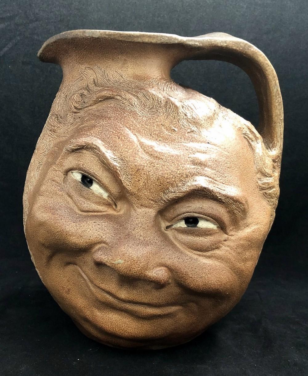 martin brothers large face jug