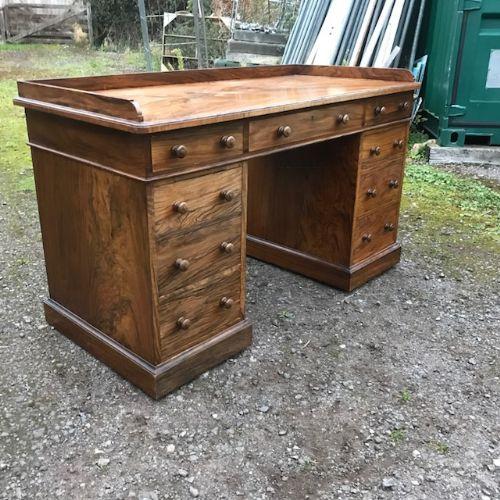 holland sons walnut desk