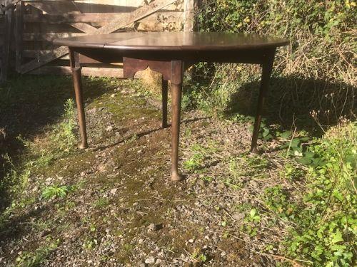 george ii pad foot gateleg table