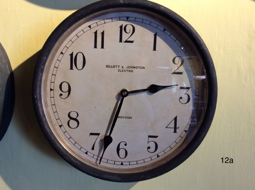 copper brass cased clock now fitted with quartz movement