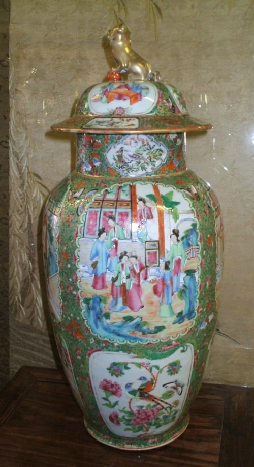 Large chinese vase circa 1860 77198 for Asian antiques uk