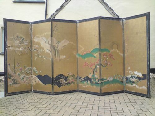 antique japanese screen 192849 sellingantiques co uk