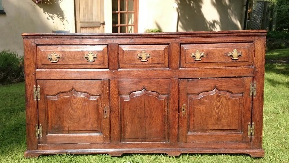 18th century oak dresser