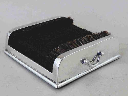 1904 mordan silver pen nib wipe boot brush scraper sterling hallmarked