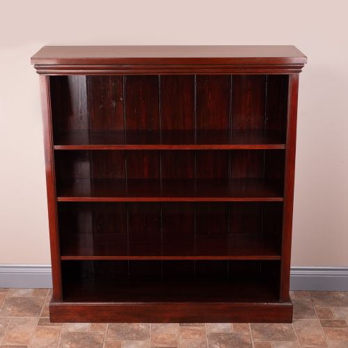 good sized open bookcase