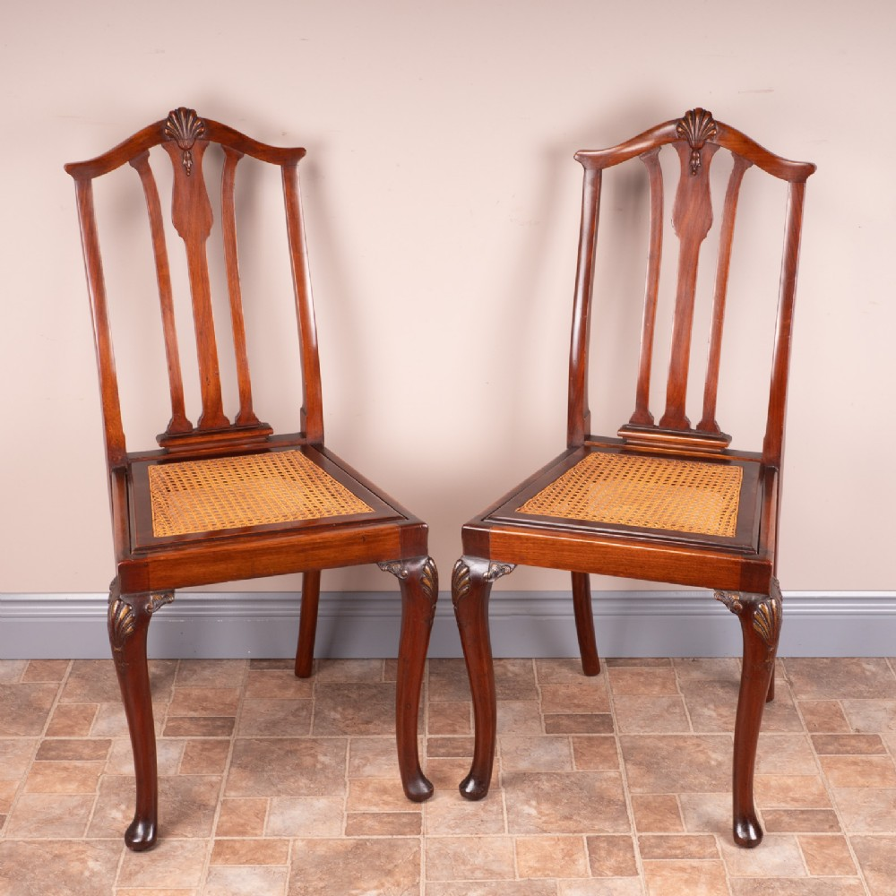 Pair Of Cane Seated Bedroom Chairs | 641570 ...
