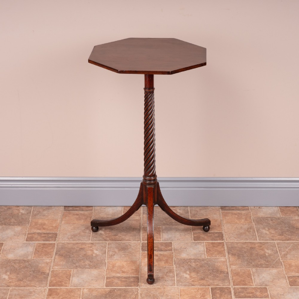 19thc rope twist occasional table