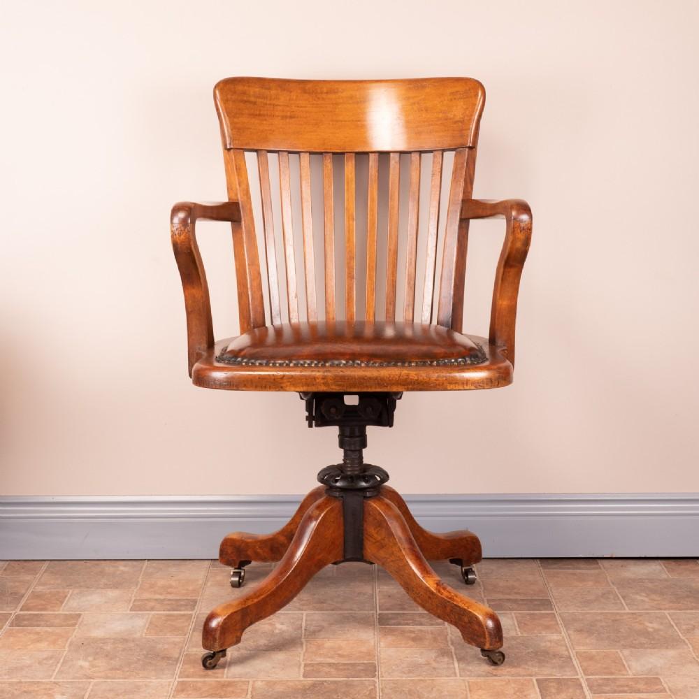 revolving office desk chair