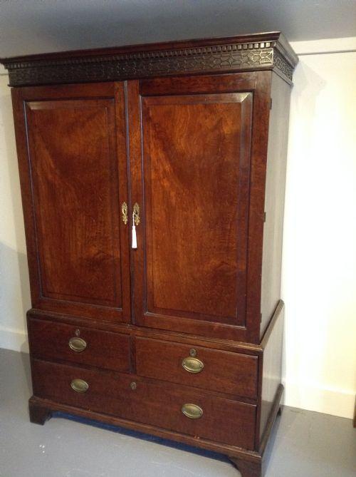 Anne Stroud Antiques - Antique Linen Cupboards - The UK's Largest Antiques Website