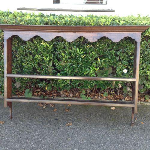 oak wall rack