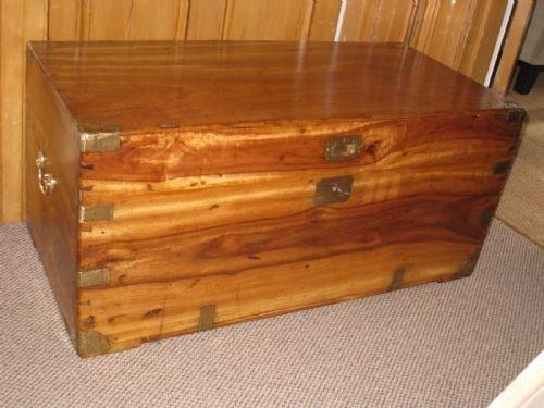 Camphor Wood Chest ~ C camphor wood campaign chest