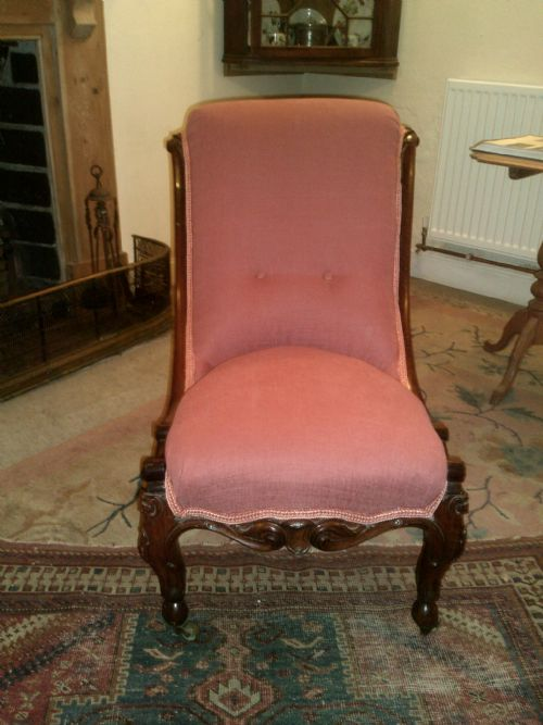 Antique Chairs and Museum - Antique Slipper Chairs - The UK's Largest Antiques Website