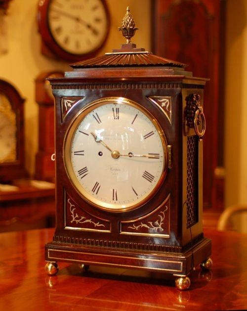james mccabe royal exchange bracket clock
