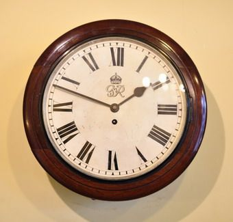 12 dial school office or station clock