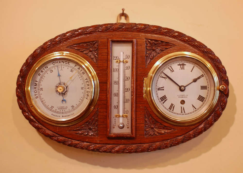 Art Décor: Nautical, Wall Clock - Barometer - Thermometer.