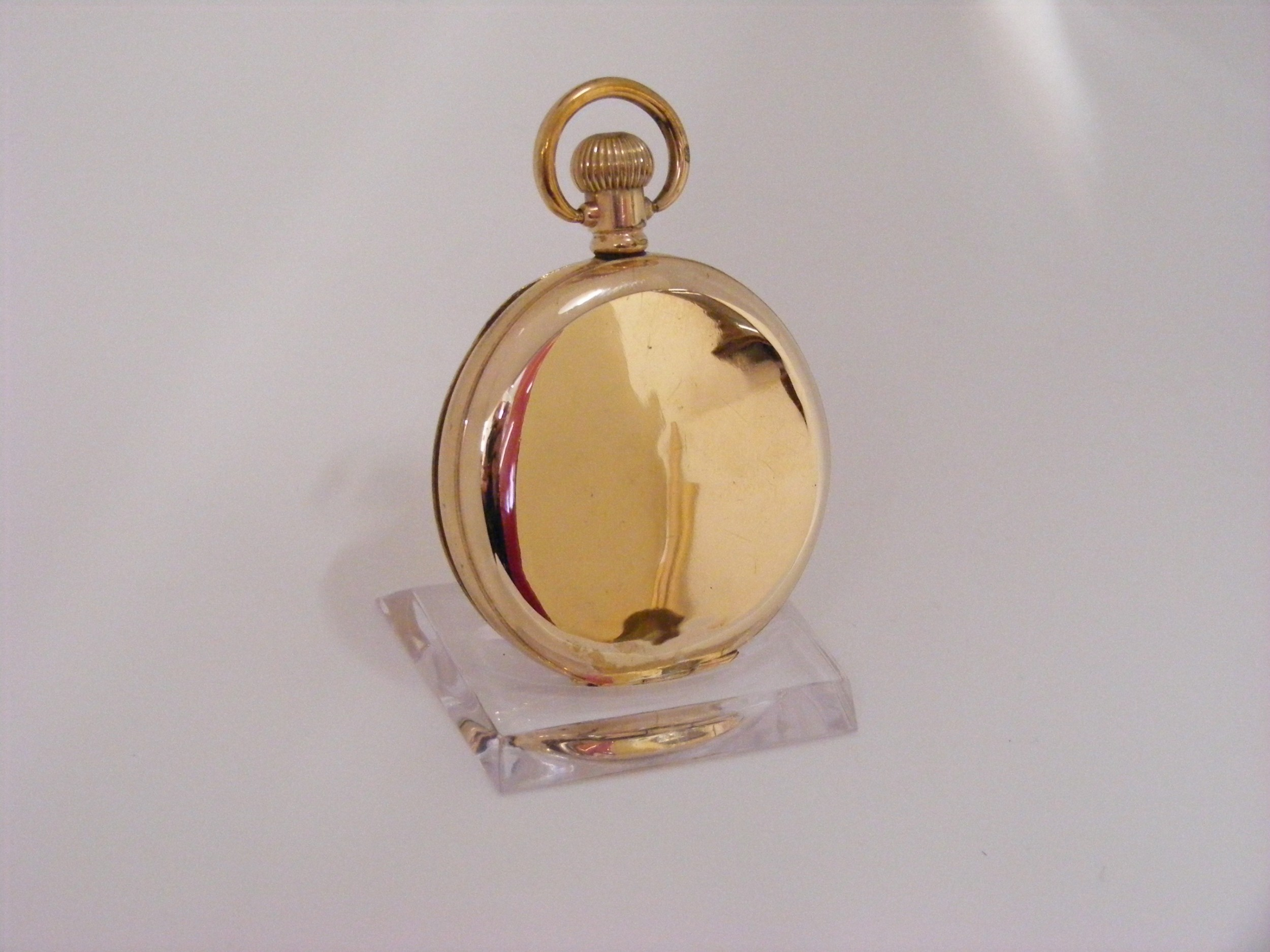 waltham 17 jewel hunting case pocket watch serviced warranted