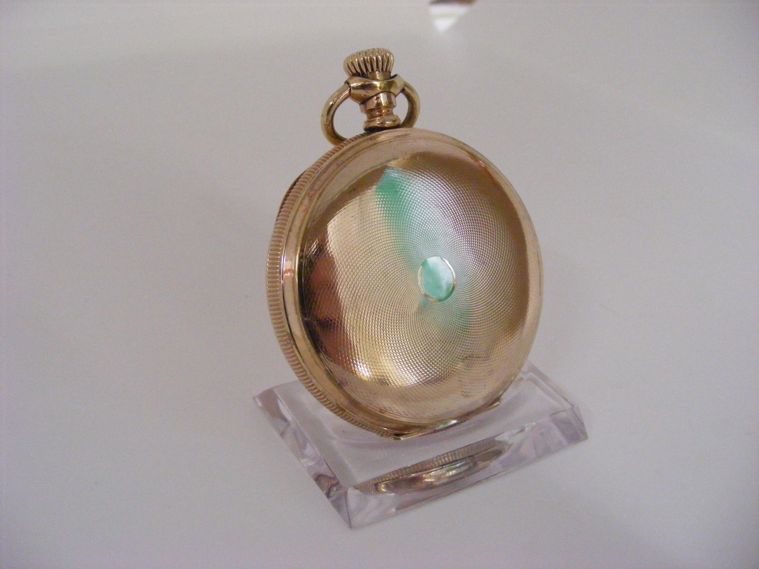 waltham hunting case pocket watch serviced warranted