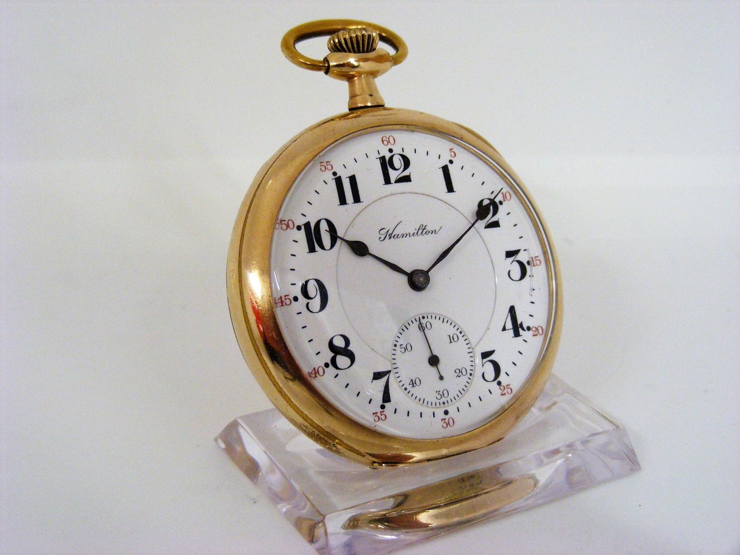 hamilton grade 992 21 jewel pocket watch