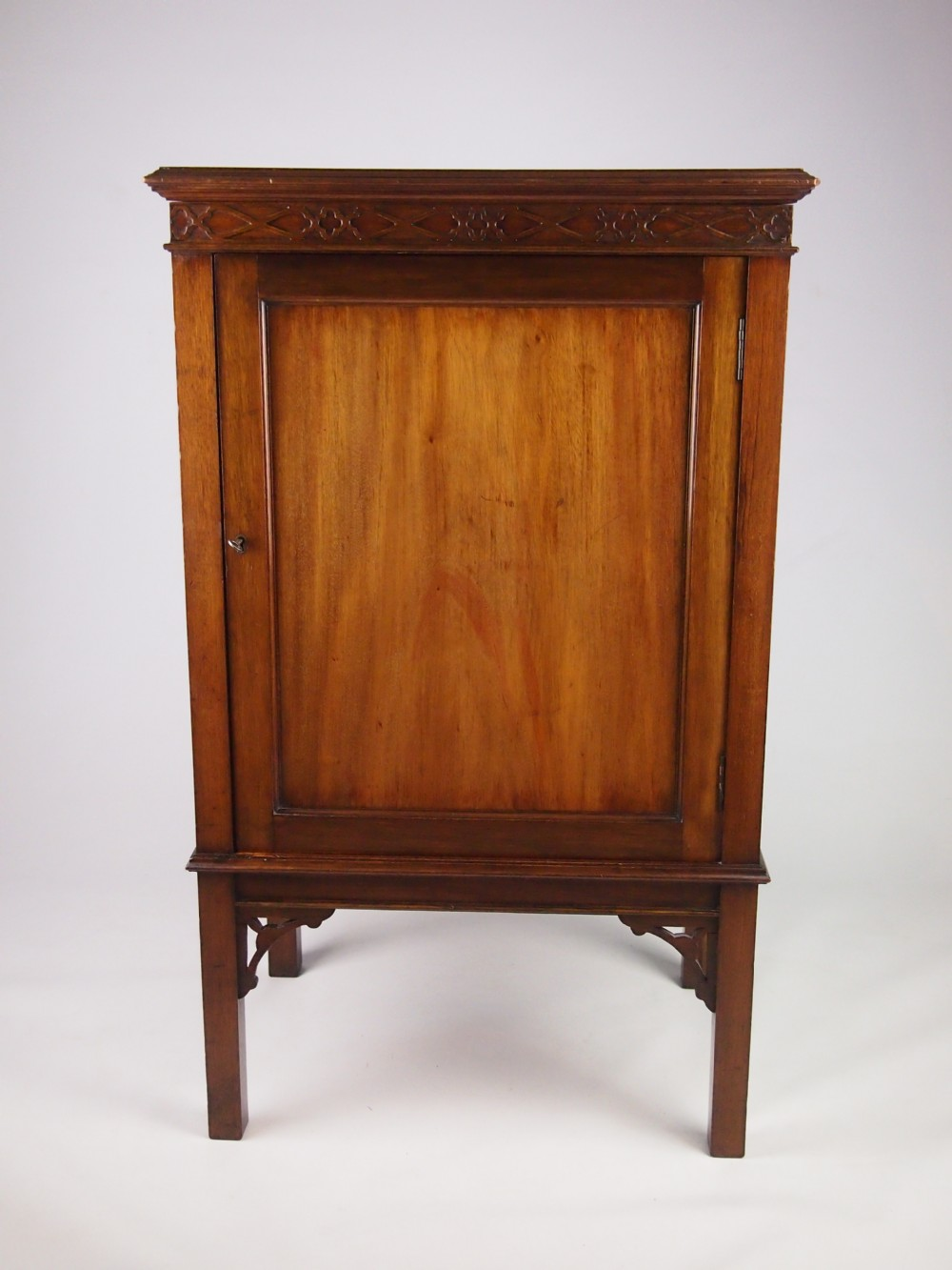 Antique edwardian mahogany hall cupboard drinks cabinet for Cupboard or cabinet