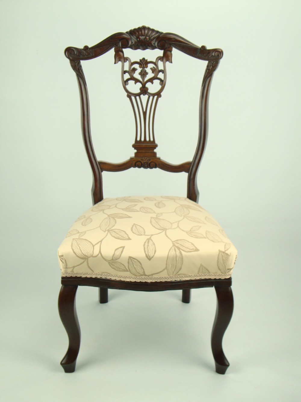 antique edwardian nursing chair - Antique Edwardian Nursing Chair 234473 Sellingantiques.co.uk