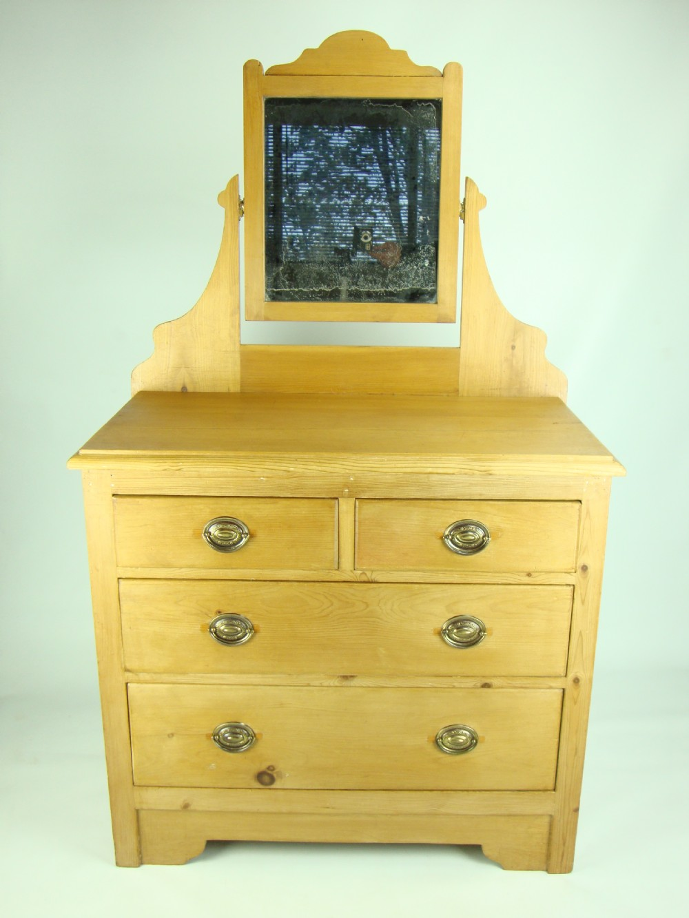 Antique victorian pine dressing table