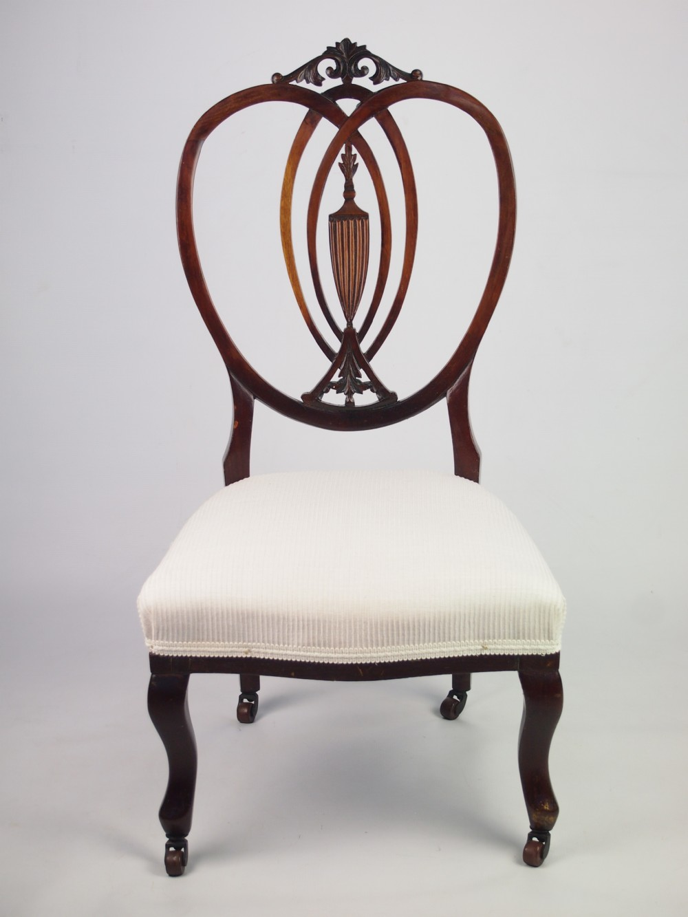 Superb Antique Edwardian Nursing Chair