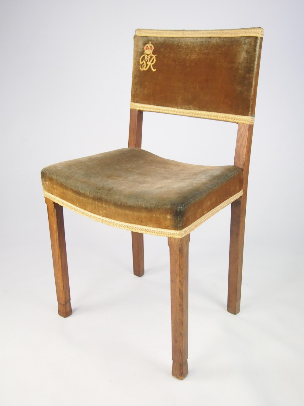 George Vi Coronation Chair From West Minster Abbey 260689