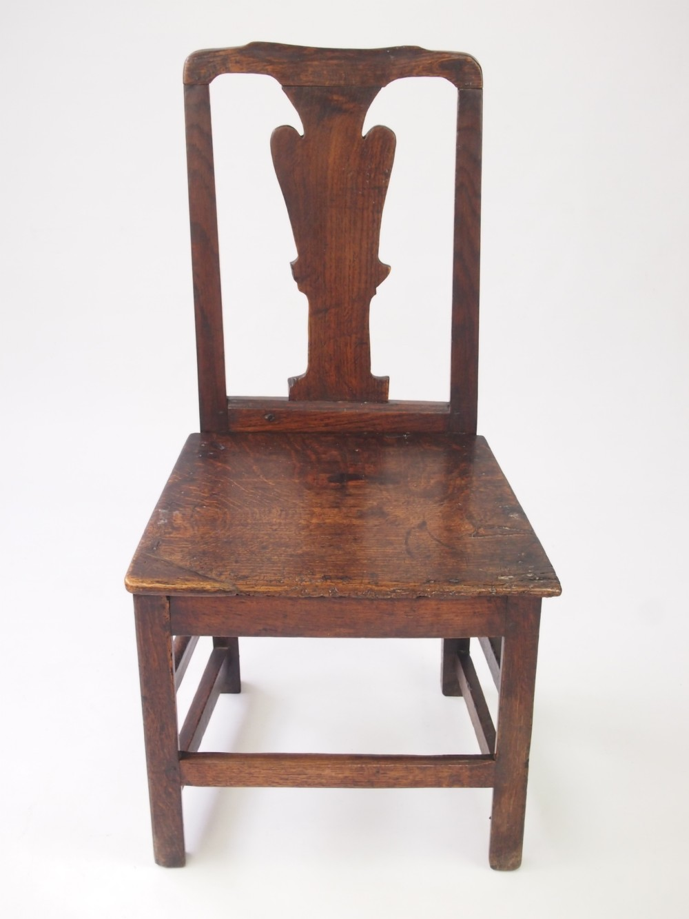 Antique 18th Century Oak Side Chair