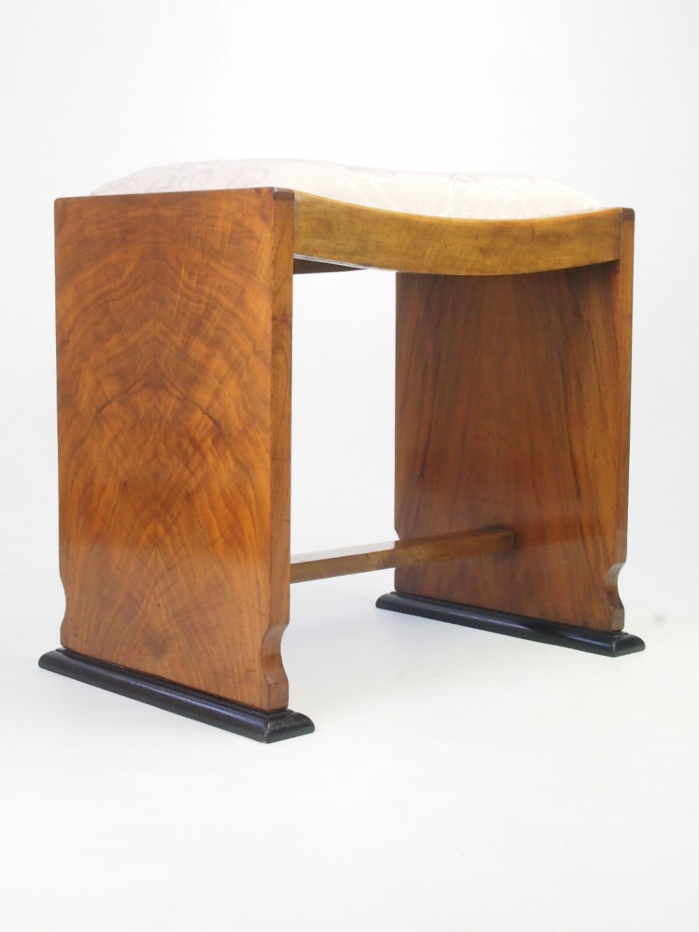 art deco walnut dressing table stool piano stool & Art Deco Walnut Dressing Table Stool / Piano Stool | 312397 ... islam-shia.org