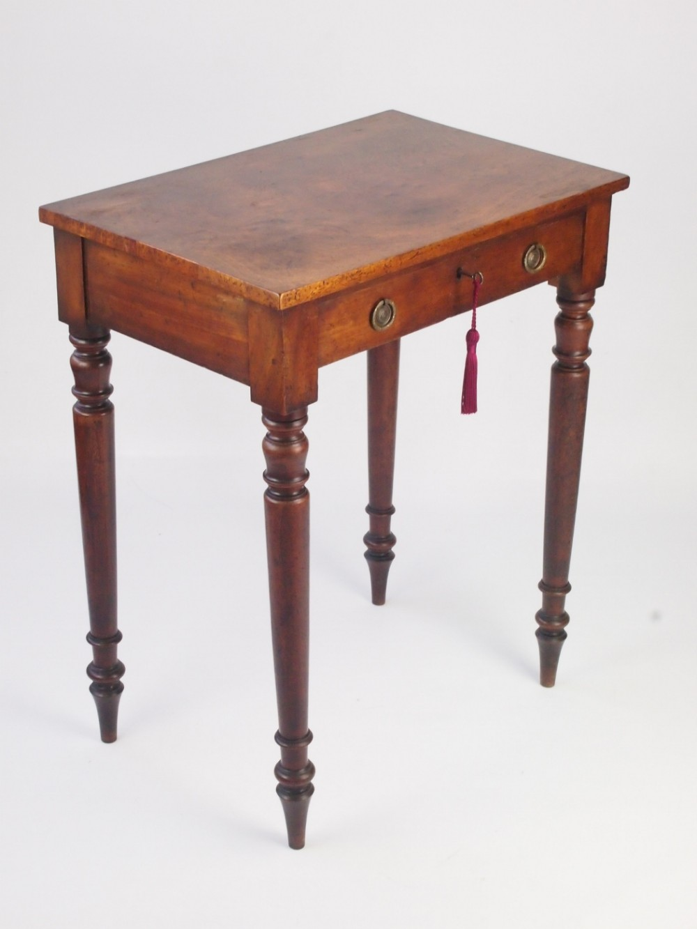small antique victorian writing desk side table - Small Antique Victorian Writing Desk - Side Table 314143
