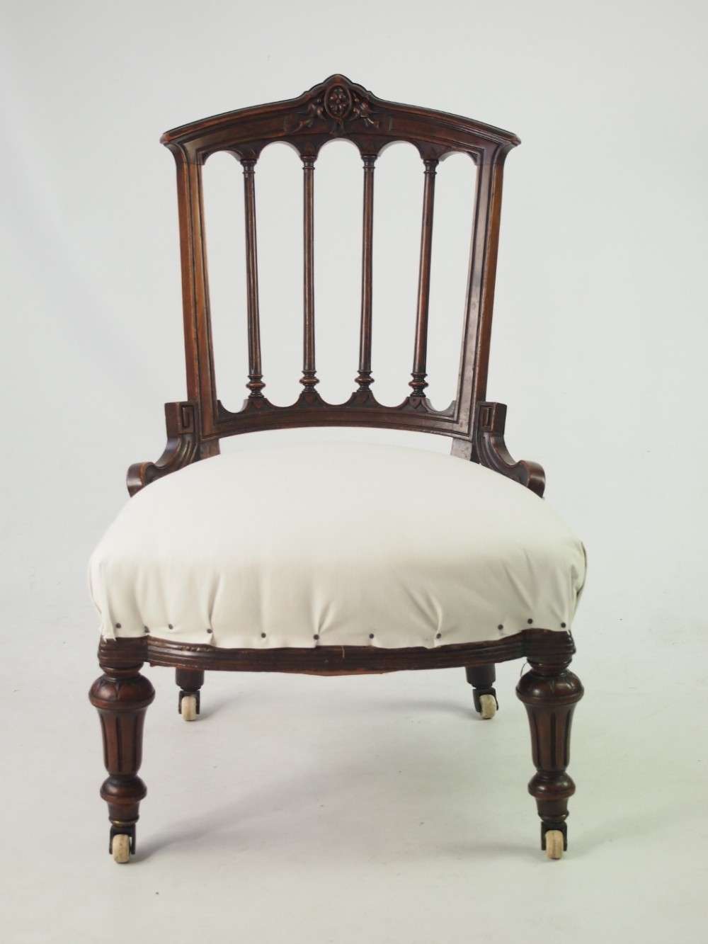 Victorian dressing table - Small Victorian Bedroom Chair Or Dressing Table Chair