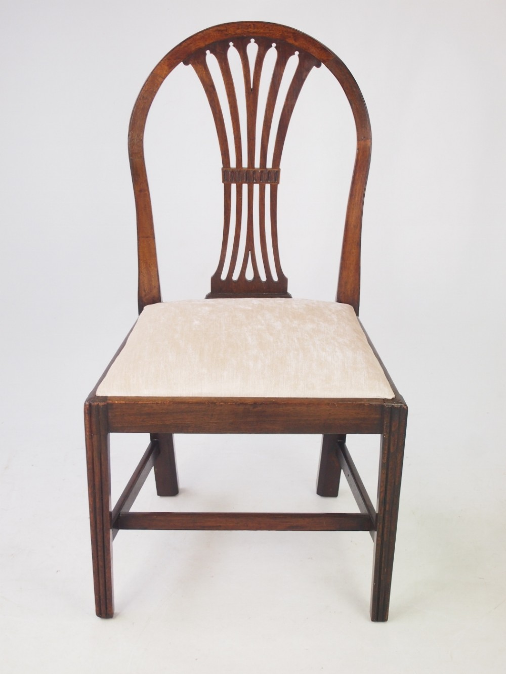Georgian Mahogany Desk Chair 428114