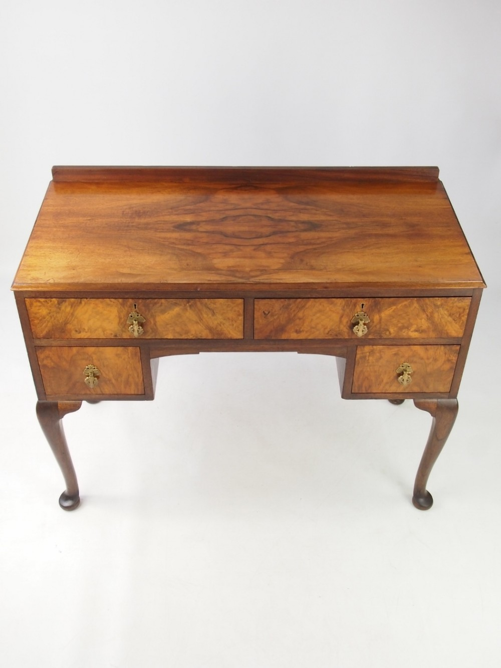 Small Art Deco Walnut Desk 463243