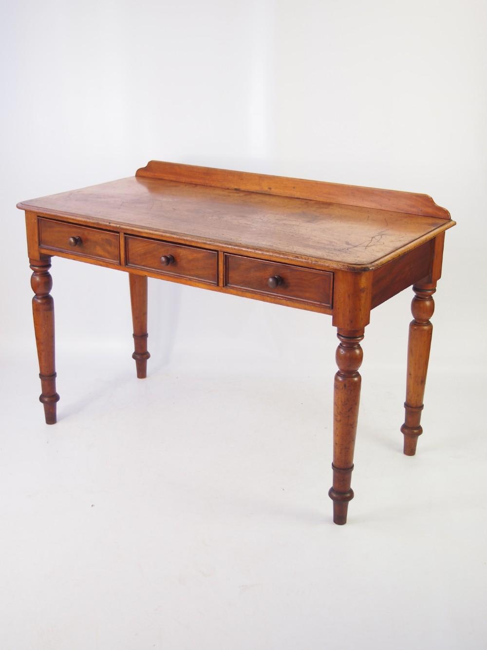 victorian mahogany desk
