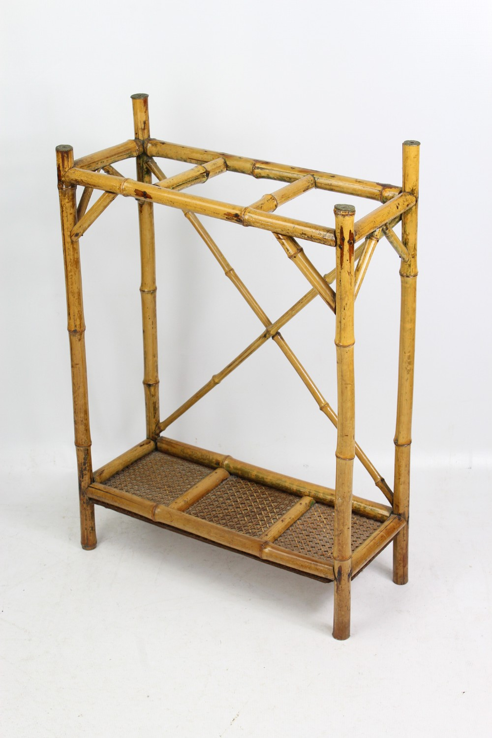 victorian bamboo stick umbrella hall stand