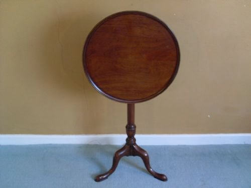 a 19thc tilt top tripod table