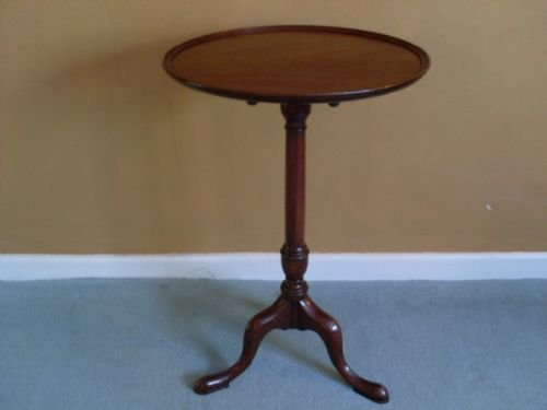 a 19thc tilt top tripod table - photo angle #2