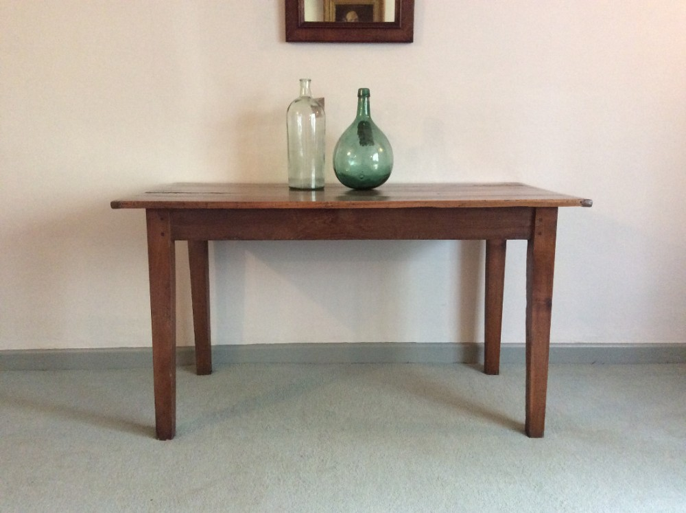 a 19thc cherry kitchen table 460970