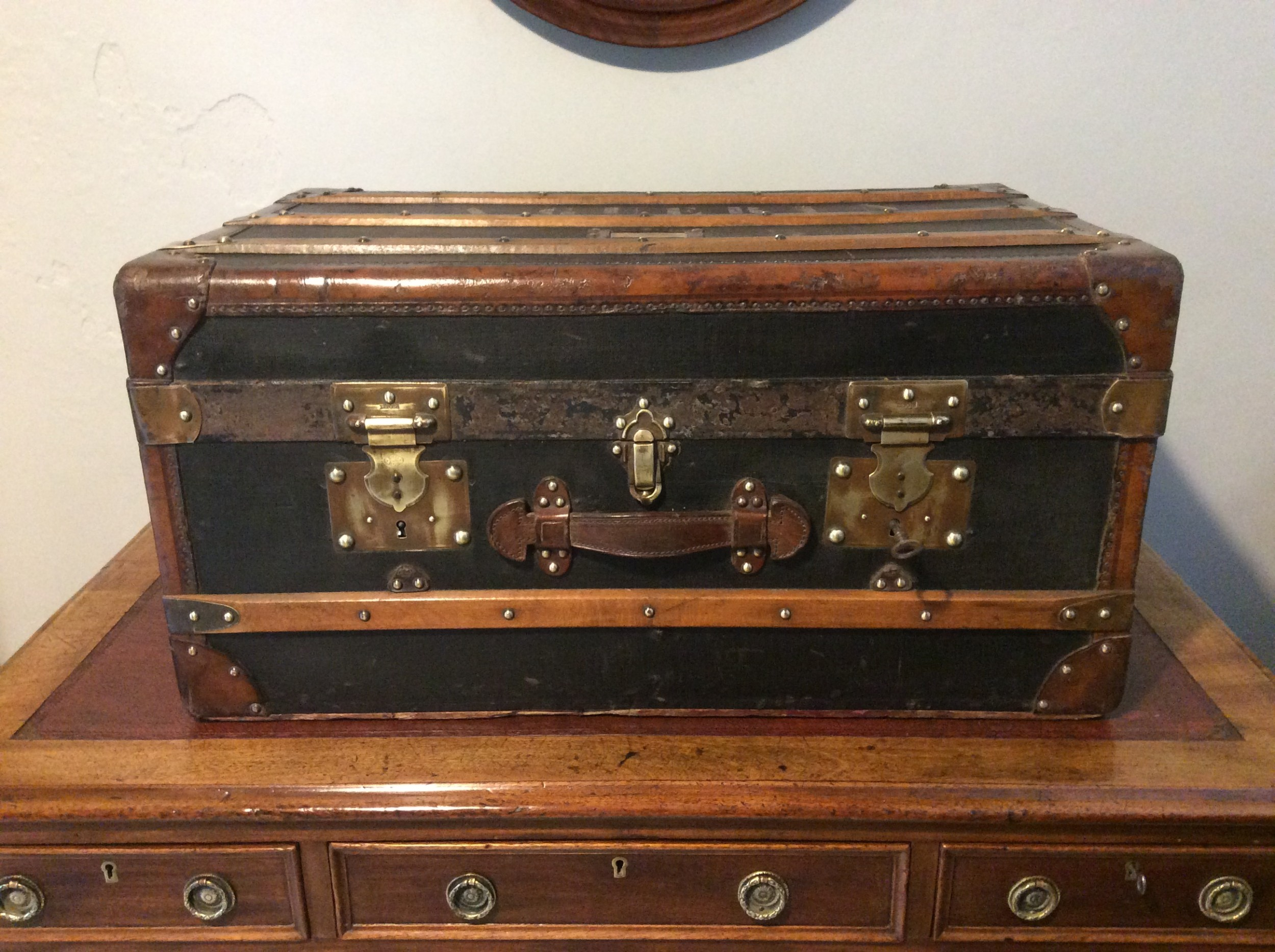 a french travelling trunk