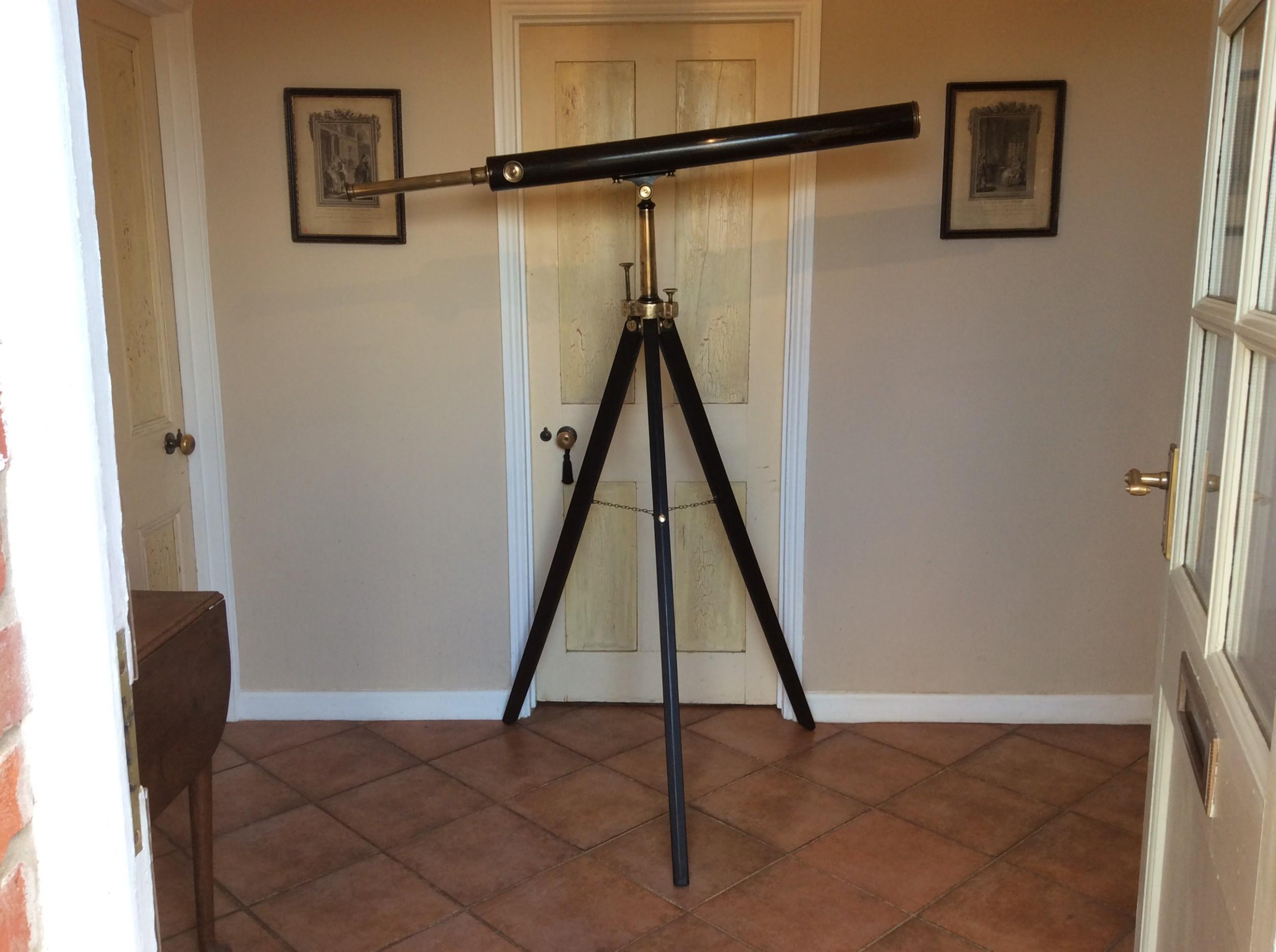 a large negretti zambra telescope