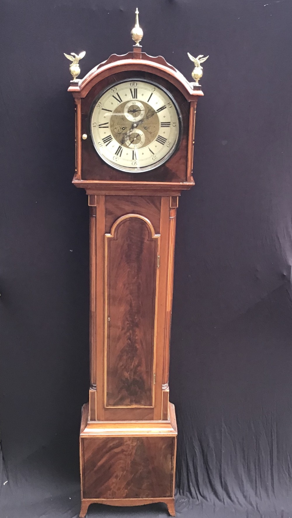 clock longcase scottish