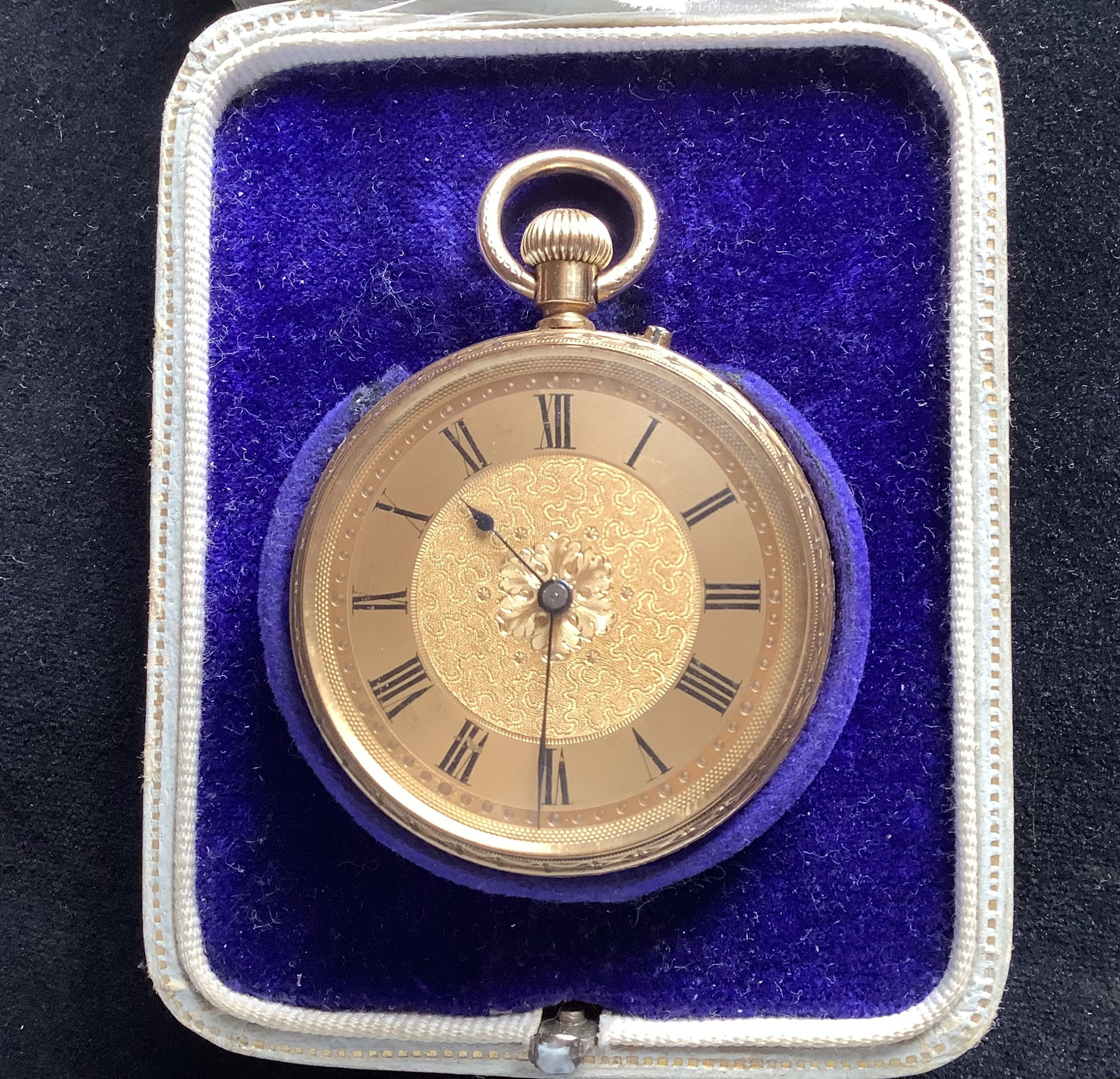 watch pocket ladies gold