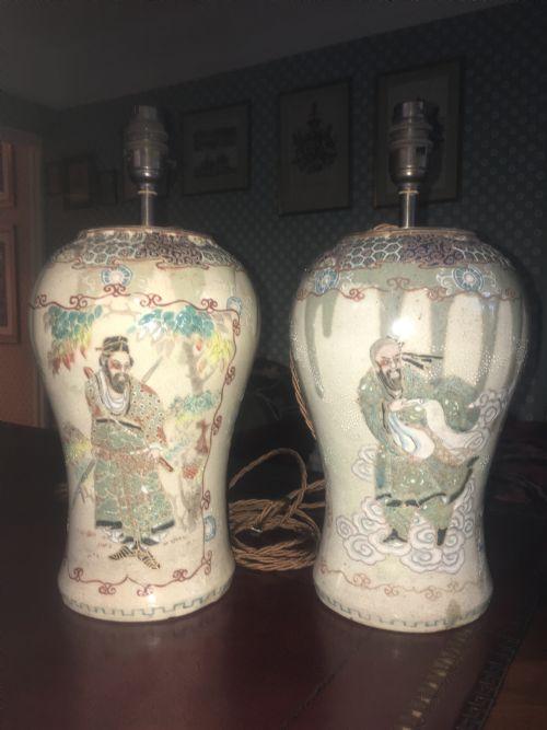 Antique Japanese Satsuma Vases The Uks Largest Antiques Website
