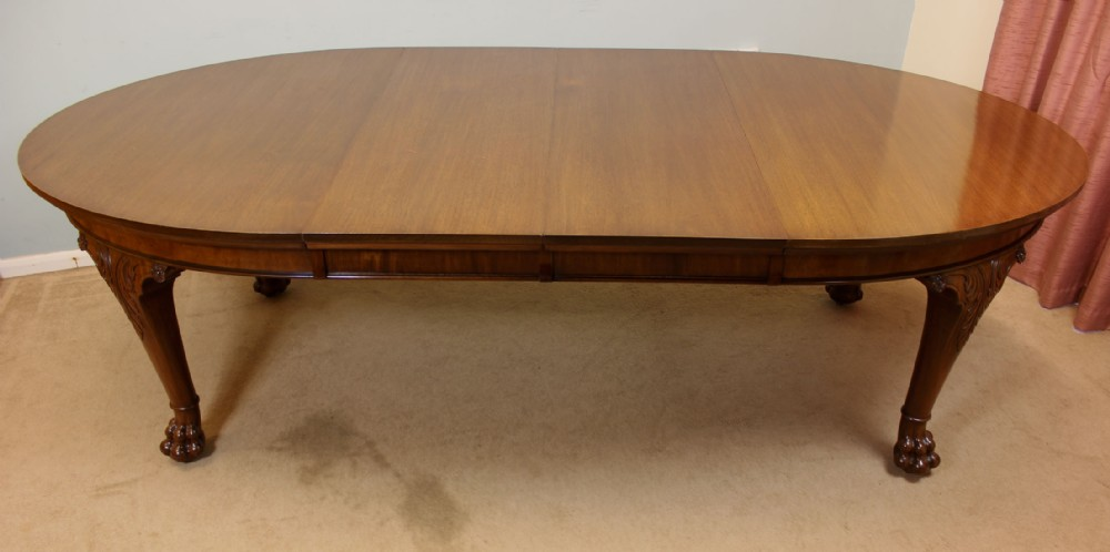 Antique Extending Mahogany Dining Table 254518