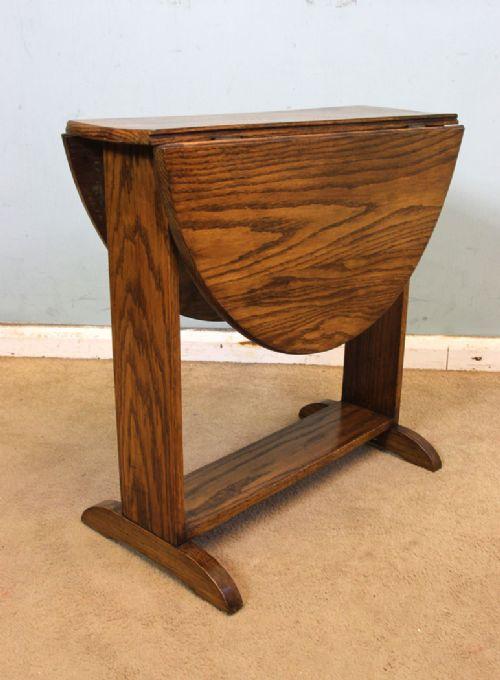 Small Oak Drop Leaf Sutherland Coffee Table 555279